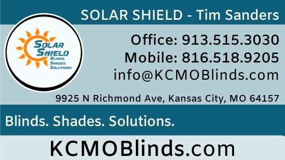 Solar Shield Blinds. Shades. Solutions.